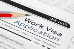 worker visa application for New Zealand