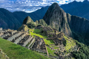 Peru Mountain Valley View